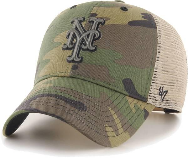 '47 Men's New York Mets Camo Branson MVP Hat product image