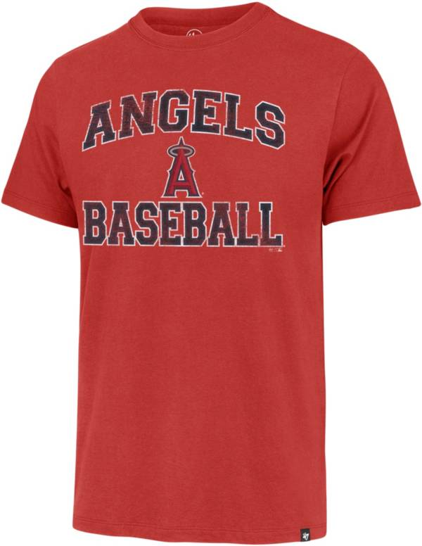 '47 Men's Los Angeles Angels Red Franklin T-Shirt product image