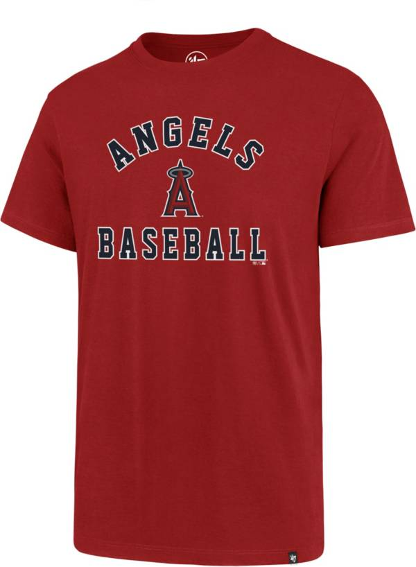 '47 Men's Los Angeles Angels Red Reset Rival T-Shirt product image