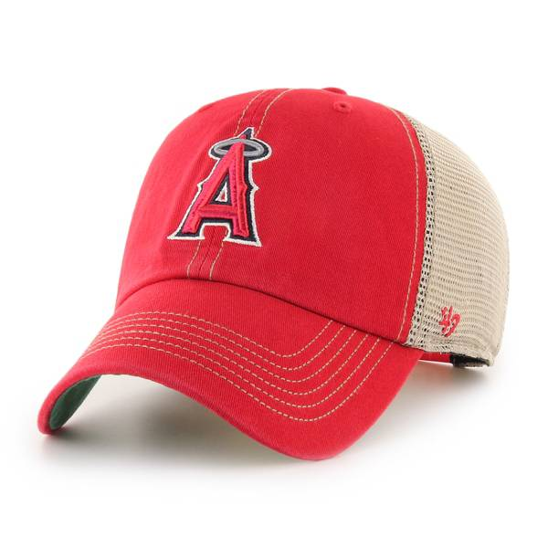 '47 Men's Los Angeles Angels Red Trawler Clean Up Adjustable Hat product image