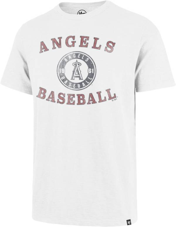 '47 Men's Los Angeles Angels White Scrum T-Shirt product image