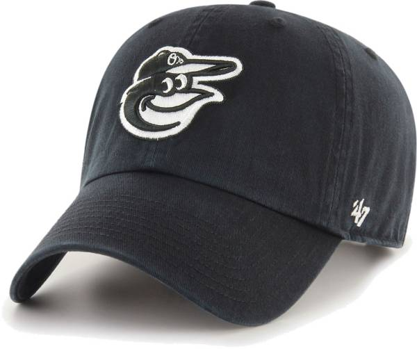 '47 Men's Baltimore Orioles Black Clean Up Adjustable Hat product image