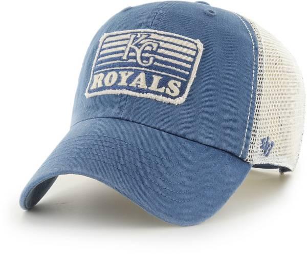 '47 Men's Kansas City Royals Blue Clean Up Adjustable Hat product image