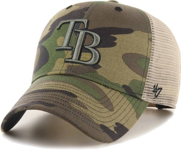 '47 Men's Tampa Bay Rays Camo Branson MVP Hat product image