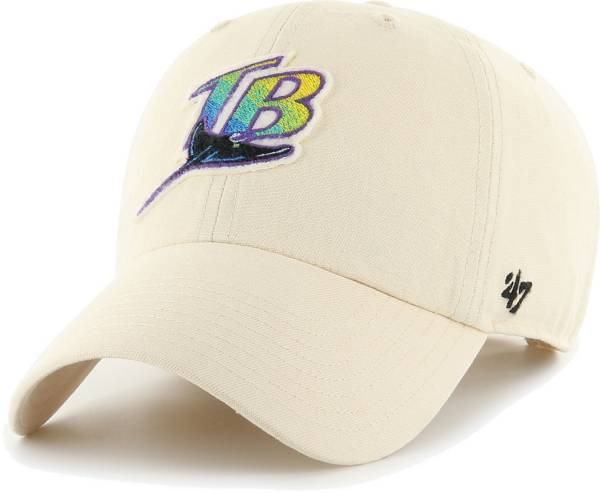 '47 Men's Tampa Bay Rays Natural Cooperstown Clean Up Adjustable Hat product image