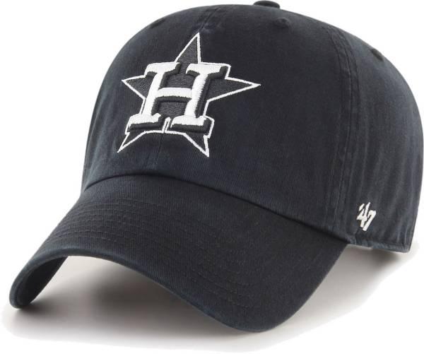 '47 Men's Houston Astros Black Clean Up Adjustable Hat product image