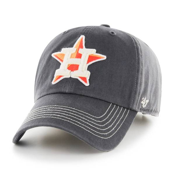 '47 Men's Houston Astros Charcoal Cronin Clean Up Adjustable Hat product image