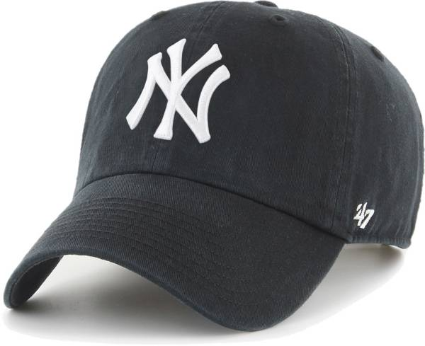 '47 Men's New York Yankees Black Clean Up Adjustable Hat product image