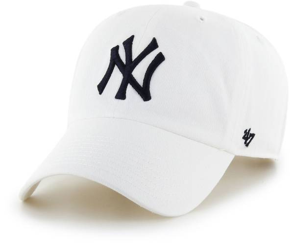 '47 Men's New York Yankees White Clean Up Adjustable Hat product image