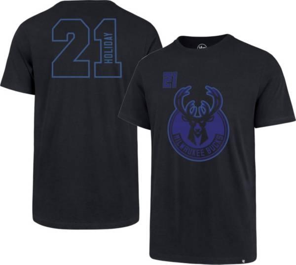 '47 Men's Milwaukee Bucks Jrue Holiday Number T-Shirt product image