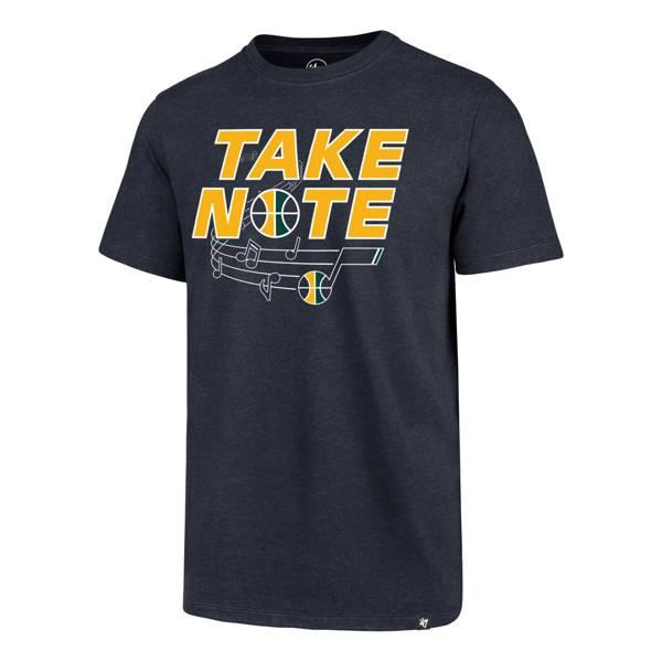 '47 Men's Utah Jazz Take Note T-Shirt product image