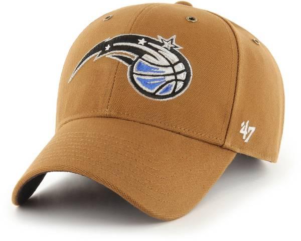 '47 Men's Orlando Magic Brown Carhartt MVP Adjustable Hat product image