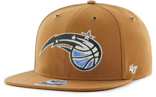 '47 Men's Orlando Magic Brown Carhartt Captain Adjustable Hat product image