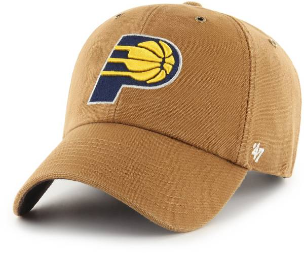 '47 Men's Indiana Pacers Brown Carhartt Clean-up Adjustable Hat product image