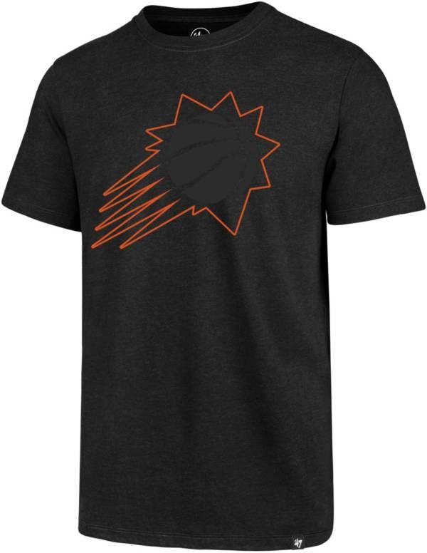 '47 Men's Phoenix Suns Black Tonal Logo T-Shirt product image
