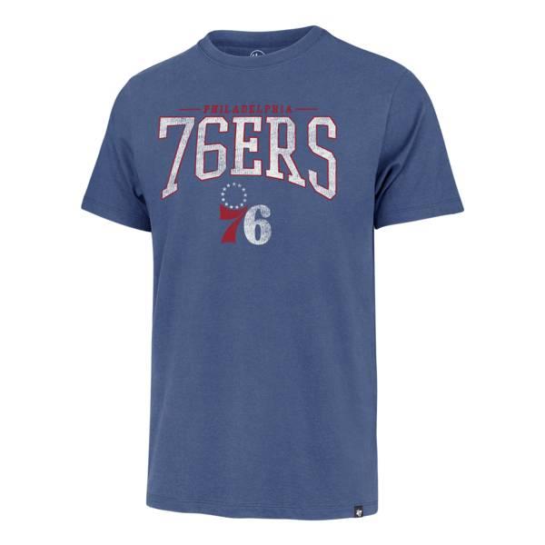 '47 Men's Philadelphia 76ers Full Rush T-Shirt product image