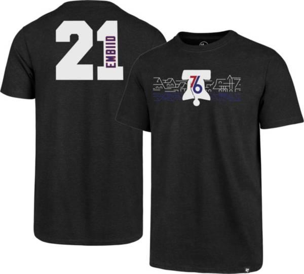 '47 Men's Philadelphia 76ers Joel Embiid Skyline T-Shirt product image