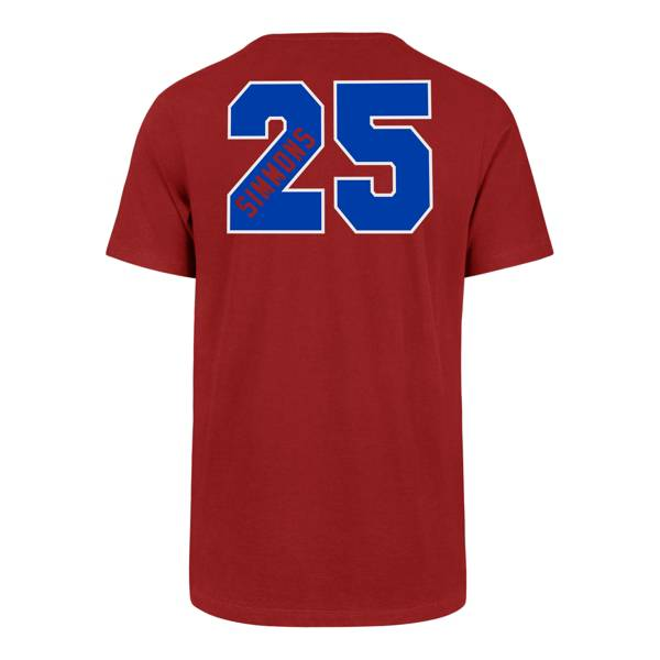 '47 Men's Philadelphia 76ers Ben Simmons Number Skyline T-Shirt product image