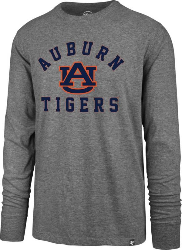 '47 Men's Auburn Tigers Grey Super Rival Long Sleeve T-Shirt product image