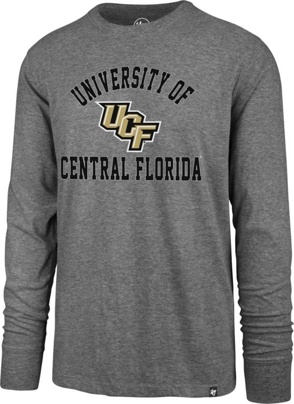 '47 Men's UCF Knights Grey Super Rival Long Sleeve T-Shirt product image