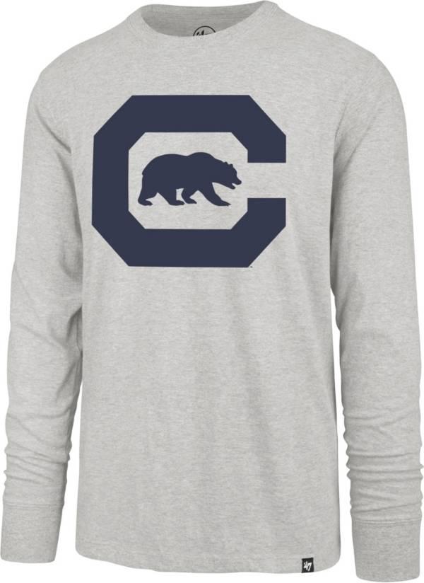'47 Men's Cal Golden Bears Grey Franklin Long Sleeve T-Shirt product image