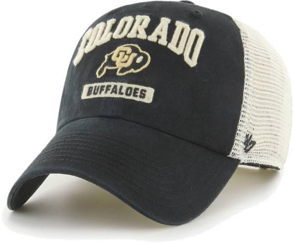 '47 Men's Colorado Buffaloes Black Morgantown Clean Up Adjustable Hat product image