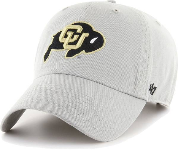 '47 Men's Colorado Buffaloes Grey Clean Up  Adjustable Hat product image