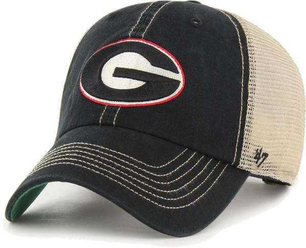 '47 Men's Georgia Bulldogs Black Trawler Clean Up Adjustable Hat product image