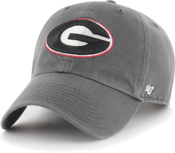 '47 Men's Georgia Bulldogs Grey Clean Up Adjustable Hat product image