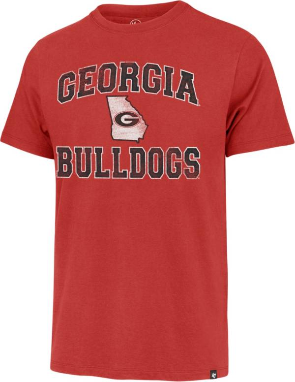'47 Men's Georgia Bulldogs Red Arch T-Shirt product image
