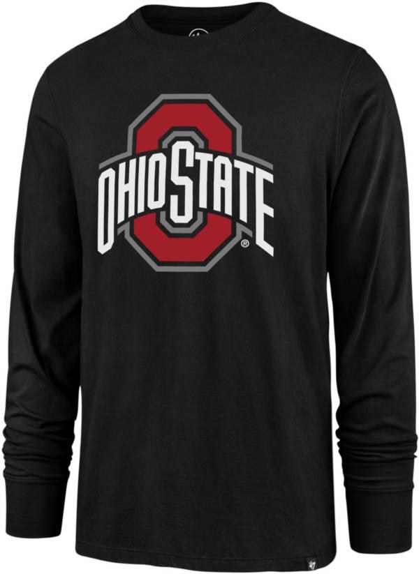 '47 Men's Ohio State Buckeyes Long Sleeve Black T-Shirt product image