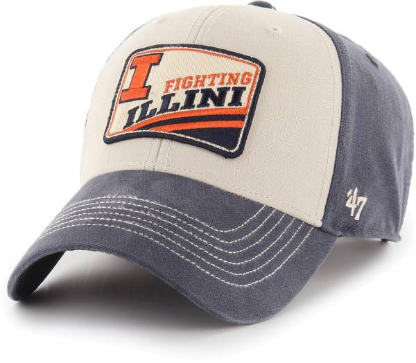 '47 Men's Illinois Fighting Illini MVP Navy Adjustable Hat product image