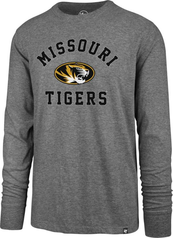 '47 Men's Missouri Tigers Grey Super Rival Long Sleeve T-Shirt product image