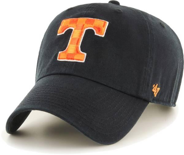 '47 Men's Tennessee Volunteers Black Clean Up Adjustable Hat product image