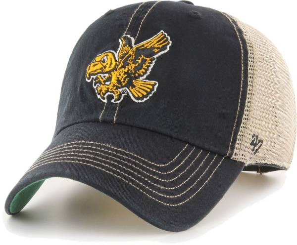 '47 Men's Iowa Hawkeyes Black Trawler Adjustable Hat product image