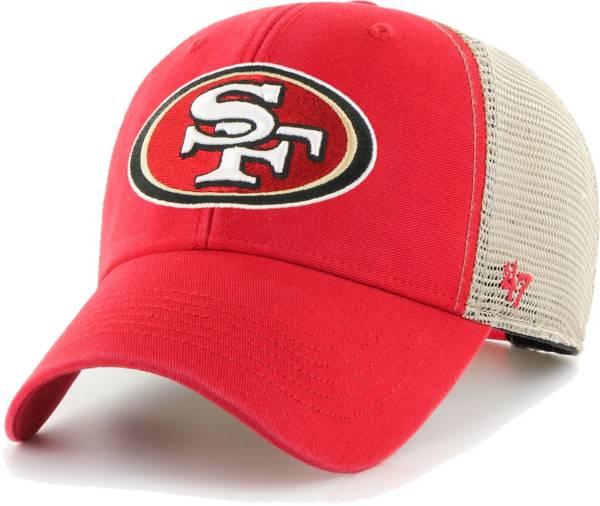 '47 Men's San Francisco 49ers Red Flagship MVP Adjustable Hat product image