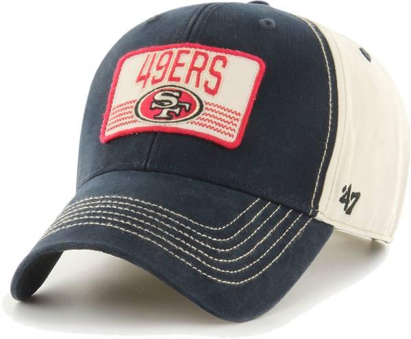 '47 Men's San Francisco 49ers Adjustable Shaw MVP Hat product image