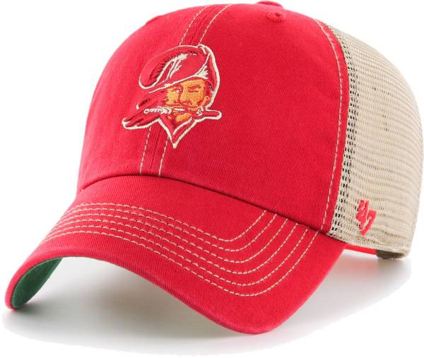 '47 Men's Tampa Bay Buccaneers Trawler Red Clean Up Hat product image