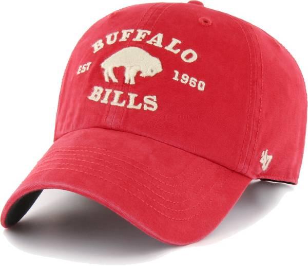 '47 Men's Buffalo Bills Red Brockman Legacy Adjustable Hat product image
