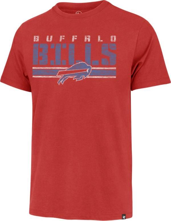 '47 Men's Buffalo Bills Red Stripe Franklin T-Shirt product image