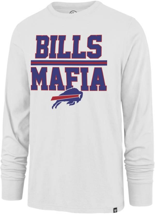 '47 Men's Buffalo Bills Mafia Long Sleeve White T-Shirt product image