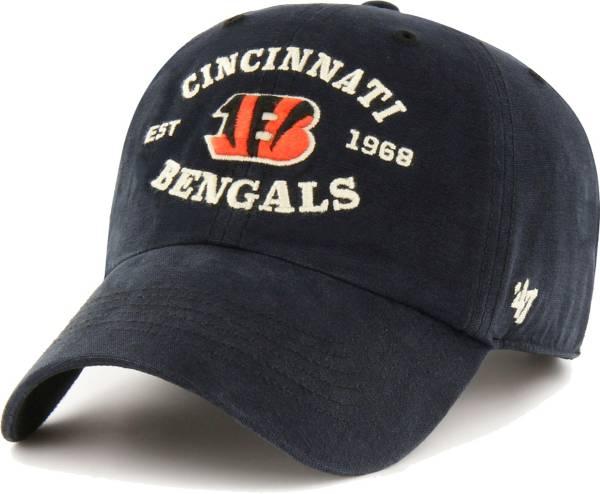 '47 Men's Cincinnati Bengals Black Reign Brockman Adjustable Hat product image