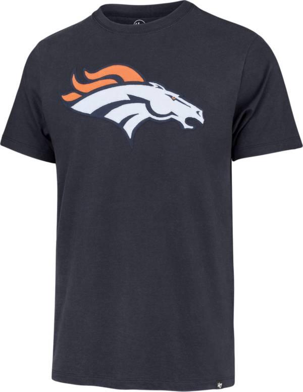 '47 Men's Denver Broncos Navy Fieldhouse T-Shirt product image