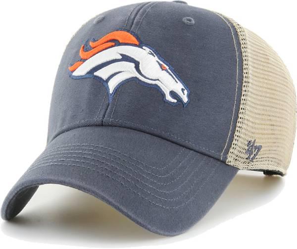 '47 Men's Denver Broncos Navy Flagship MVP Adjustable Hat product image