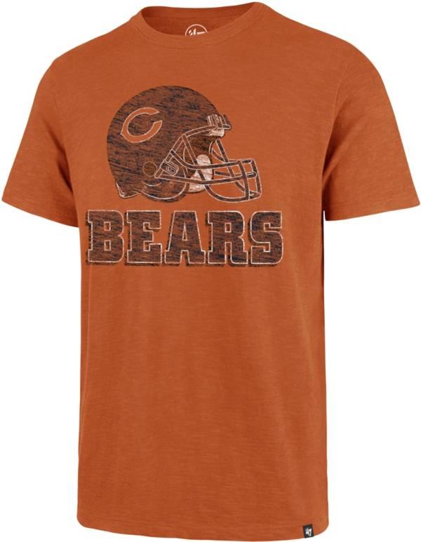 '47 Men's Chicago Bears Scrum Logo Orange T-Shirt product image