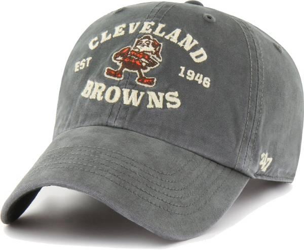 '47 Men's Cleveland Browns Charcoal Brockman Legacy Adjustable Hat product image