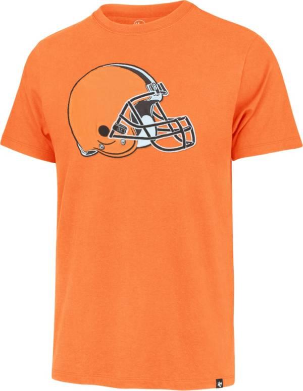 '47 Men's Cleveland Browns Orange Fieldhouse T-Shirt product image