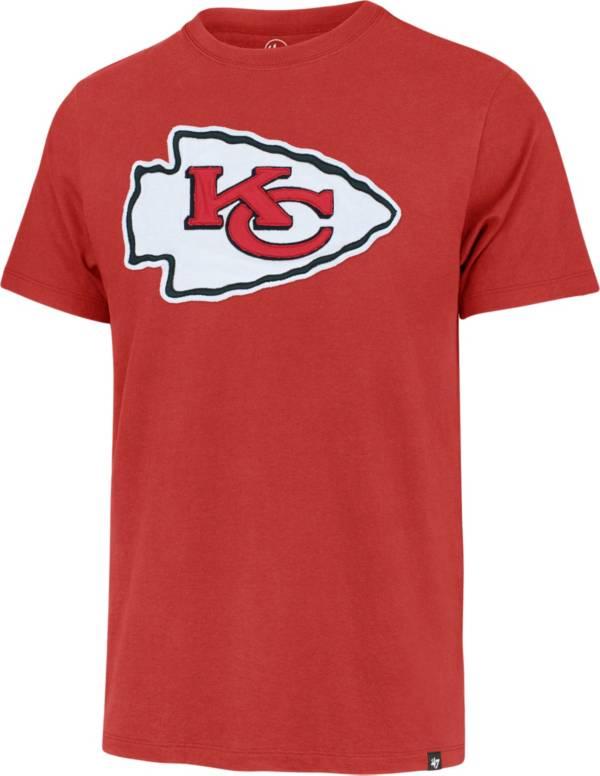 '47 Men's Kansas City Chiefs Red Fieldhouse T-Shirt product image