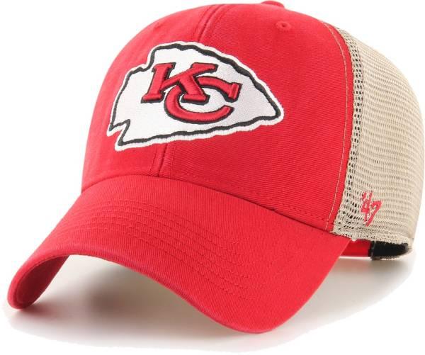 '47 Men's Kansas City Chiefs Red Flagship MVP Adjustable Hat product image