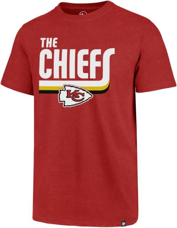 '47 Men's Kansas City Chiefs Red Regional Club T-Shirt product image
